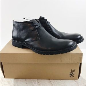 John Varvatos Collection Star Leather Chukka Boot